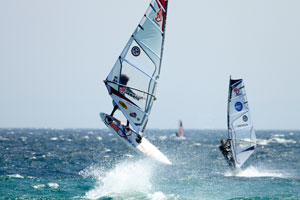 Windsurfing in Bolonia